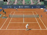 Clay and Grass courts are also available and using the +/- keys allows you to change the camera angle.