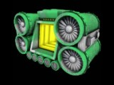 The Hydra Powerplant - outside of the playfield, units are given graphics such as this so that you know what you are buying.