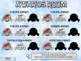 The Awards Room. Play long enough and all these medals can be yours!