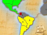 I launch a daring attack on South America...