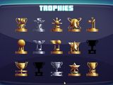 The trophy cabinet. Only 2 to go!