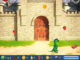 "Train Dino to help you in the kitchen with this ""falling fruit"" minigame."
